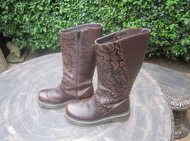 Dr. Marten Brown Leather Boots.