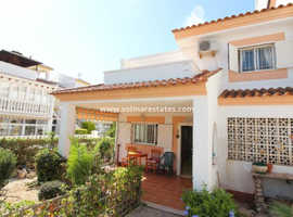 Costa Blanca Furnished 3 Bed 2 Bath Quad House with Parking close to all amenities  - Playa Flamenca
