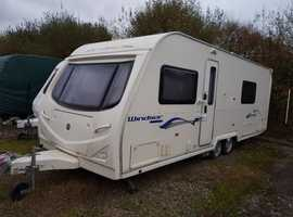 2008 TOP SPEC FIXED DOUBLE BED TWIN AXLE AVONDALE 642. TWIN MOTOR MOVERS. AWNING. SERVICED 2018. LOVELY FAMILY VAN
