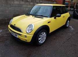 MINI ONE 3 DOORS HATCH BACK 2002 16.00cc PETROL MOT UNTIL 3/1/20 nice tidy car  .