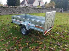 BRAND NEW Trailer 8,7 x 4,2 flat single axle with ramp £950 in Kirkcaldy