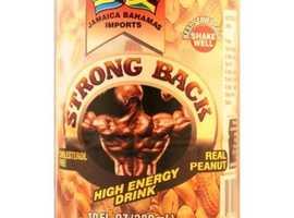 Jamaica Bahamas Imports Strong Back Peanut 280ml | Buy Energy Drinks