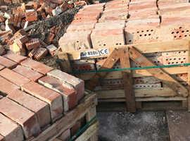Old 20 hole clay bricks