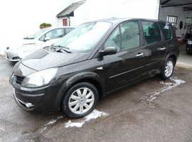 Renault Megane, 2008 (58) Black MPV, Manual Diesel, 99,000 miles