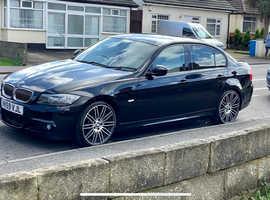 BMW 3 Series, 2009 (59) Black Saloon, Automatic Diesel, 125,000 miles