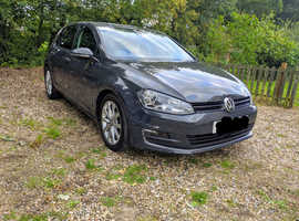 Volkswagen Golf, 2013 (63) Grey Hatchback, Manual Diesel, 76,800 miles