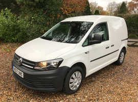 2017 VW Volkswagen Caddy C20 2.0 tdi 102ps Euro 6 AIR CON Bluemotion Tech Diesel