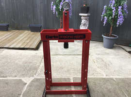 Clark Strong Arm 10 Ton Press  (Frame Only). Bargain £70