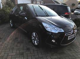 Citroen Ds3, 2014 (64) Black Hatchback, Manual Petrol, 31,000 miles