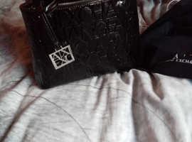 Armani exchange bag with dustbag