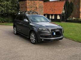 Audi Q7, 2008 (08) Grey Estate, Automatic Diesel, 133,600 miles