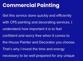 Cps painting and decorating services