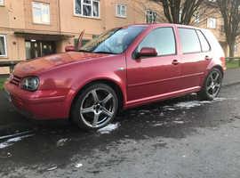Volkswagen Golf, 2002 (02) Red Hatchback, Manual Diesel, 184,000 miles