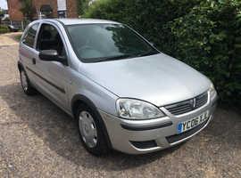 Vauxhall Corsa, 2006 (06) £30 A YEAR ROAD TAX SERVICE HISTORY ,LONG MOT