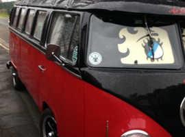 Volkswagen vw bay T2 split screen camper van