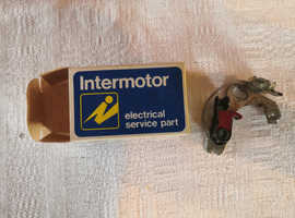 Boxed, Unused Intermotor Contact Set, CS132 Classic Car Parts Replace Lucas CS8