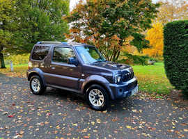 Suzuki Jimny, 2012 (62) Grey Estate, Manual Petrol, 67,000 miles, SZ4 High Spec! 12-Months Warranty!