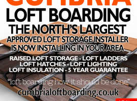 Cumbria Approved Loft Boarding Packages from only £390