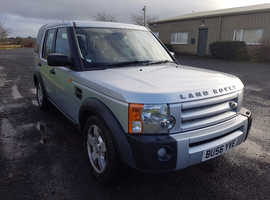 Land Rover Discovery, 2006 (56) Silver Estate, Manual Diesel, 142,983 miles