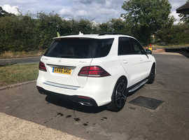 Mercedes GLE-CLASS, 2016 (66) White Estate, Automatic Diesel, 29,000 miles