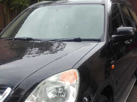 Honda CR-V, 2003 (03) Executive all extras, full leather etc. Black Estate, Manual Petrol, 4X4 High Mileage NDNCR