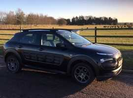 Citroen C4 CACTUS, 2015 (15) Black Hatchback, Manual Petrol, 60,250 miles