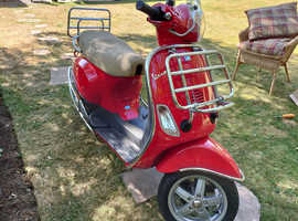 Vespa Piaggio LX50 - AS NEW ! 2006 Timewarp