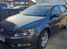 Volkswagen Passat, 2013 (62) Grey Saloon, Manual Diesel, 55,000 miles