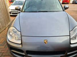 Porsche CAYENNE S TIPTRONIC, 2005 (05) grey estate, Automatic Petrol, 65,700 miles