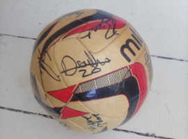 Signed Grimsby town football