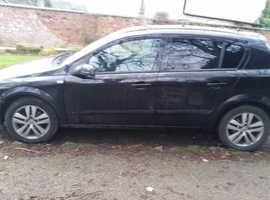 Vauxhall Astra, 2007 (57) Black Hatchback, Manual Diesel, 94,277 miles