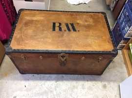 Large Wooden Trunk - Coffee Table