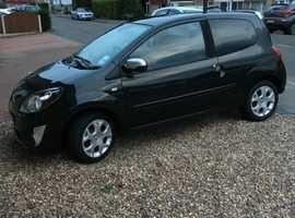 Renault Twingo, 2010 (60) Black Hatchback, Manual Petrol, 68,000 miles