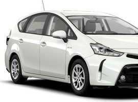 Toyota PRIUS PLUS, 2014 (14) White MPV, Cvt , 112,000 miles