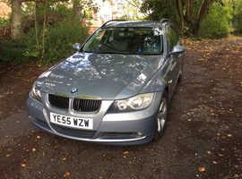BMW 3 Series, 2005 (55) Blue Estate, Manual Diesel, 159,809 miles