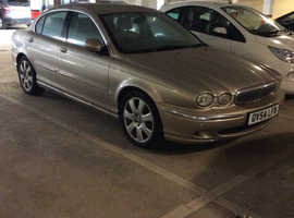 Jaguar X-TYPE, 2004 (54) Beige Saloon, Manual Diesel, 146,972 miles