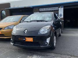 Renault Twingo, 2008 (58) Black Hatchback, Manual Petrol, 63,027 miles