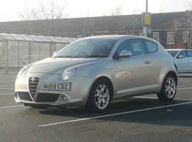 Alfa Romeo Mito 1.4, 2009 (59) White Hatchback, Manual Petrol, 44,534 miles