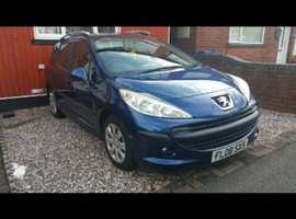 Peugeot 207, 2008 (08) Blue Estate, Manual Petrol, 56,479 miles