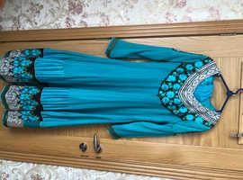 Asian 3 piece dress