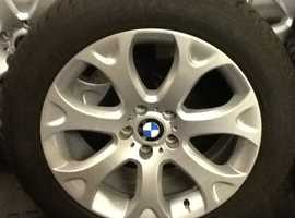 BMW X5 e70 Winter Wheels and RFT Tyres