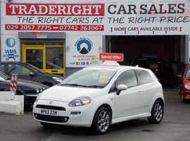 Fiat Punto, 2014 (63) White Hatchback, Manual Petrol, 38,130 miles