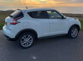 Nissan Juke, 2015 (15) White Hatchback, Manual Diesel, 62,500 miles