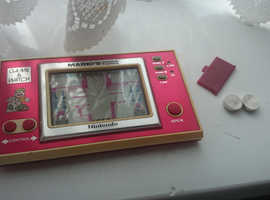 1983 Game & Watch Mario's Cement Factory by Nintendo - Model No. ML-102