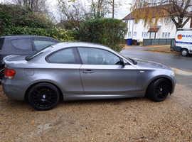 BMW 1 series, 2010 (60) Grey Coupe, Manual Diesel, 102,500 miles