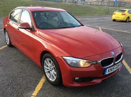 BMW 3 Series, 2015 (15) Red Saloon, Manual Diesel, 130,000 miles BUSINESS EDITION