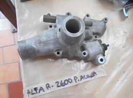 Water pump for Alfa Romeo 2600