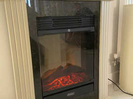 Electric feature fireplace suite - very stylish
