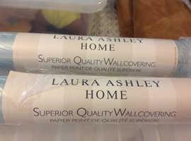 Two rolls Laura Ashley Kimono wall paper