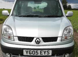 Renault Kangoo, 2005 (05) Grey MPV, Manual Petrol, 112,500 miles